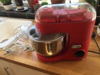 Bodum Electric Standmixer (Red) 4.7 L Full working order CAKE MIXER 700W