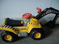 Fisher Price interactive digger ID 86B/5/17