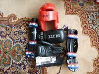 Blitz Kickboxing Equipment