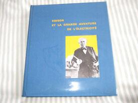 Edison et la grande aventure de l'électricité by Margaret Cousins