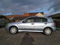 Nissan almera fully loaded,sat Nav,fully electric,sunroof and windows, genuine millage.