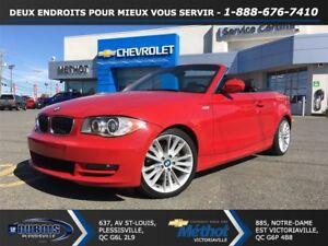 2011 BMW 128I MANUELLE + TRES PROPRE + DECAPOTABLE