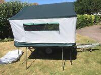Cabanon Venus 2 berth trailer tent.