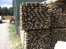 Timber fence post 50mm-75mmx2.1m
