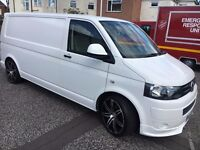 VW T5 lWB NO VAT NO VAT NO VAT NO VAT !!! tail gate rear door low mileage immaculate van for sale