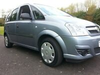 ★ LOOK AT THIS MILEAGE! ★ VERY LONG MOT ★ 2006 VAUXHALL MERIVA LIFE, 5dr MPV 1.4, VERY LARGE BOOT
