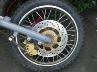 14inch pit bike front wheel