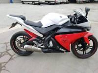 Yamaha yzf r125 2012