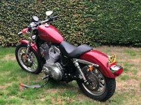 Harley Davidson 883 Sportster low mileage, great condition