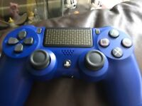 Brand new PS4 wireless control pads bargain £35 each in limited blue or black