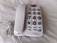 Big Button Home Telephone by Hyundai Many Many features, Ideal for senior citizens