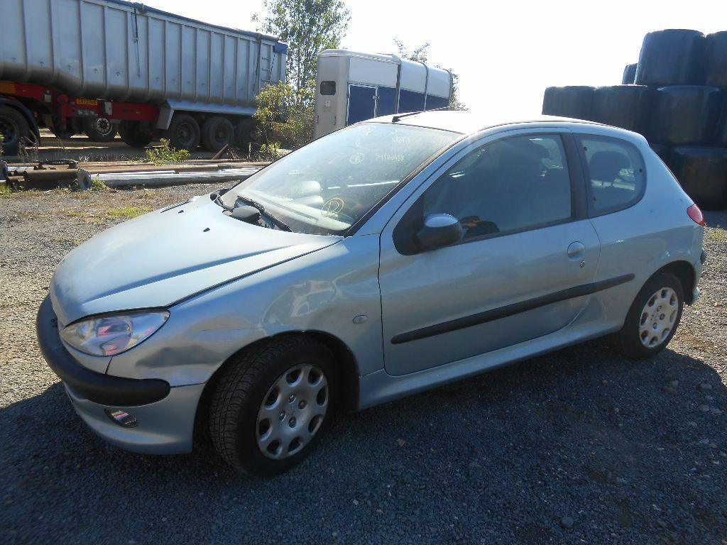 PEUGEOT 206 1.1 BREAKING FOR SPARES/PARTS (PAINT CODE:EYLC) 54 REG ...