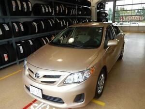 2012 Toyota Corolla CE Gas saver, low kms