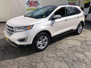 2017 Ford Edge SEL, Auto, Navi, Leather, Panoramic Sunroof, AWD