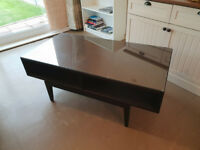 Ikea Coffee Table (Glass Top)