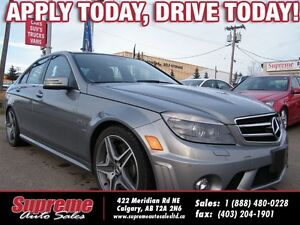 2010 Mercedes-Benz C-Class C63 AMG NAVI/B.CAM/ROOF/MUSTSEE