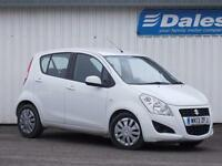 Suzuki Splash 1.2 SZ3 5Dr Hatchback (superior white u26) 2013