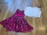 Ted baker dress with cardigan aged 2-3 years