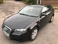 2005 Audi A3 Auto Diesel. Perfect drive. Mot. Tax. Leather