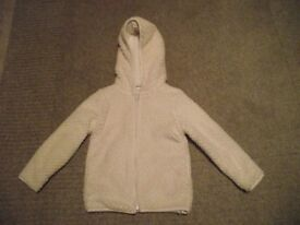 Child's soft fabric, lined jacket, Age 4 years