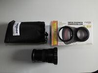 Raynox DCR-2020PRO 2.2x telephoto conversion lens