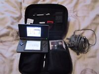 Guitar Hero Nintendo DS Lite Bundle with A Guitar Hero Game and charger, Stylus and Special case