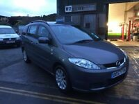 Mazda 5 1.8ts 2007 57 plate 94000 miles, 12 months mot, just serviced and warranty