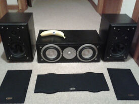 Eltax Hi Fi Speakers , Front & centre.