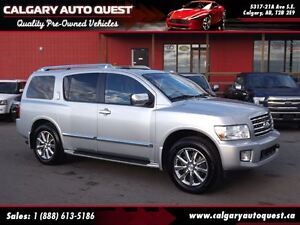 2010 Infiniti QX56 4WD/NAVI/B.CAM/DVD/7-PASS/LEATHER/ROOF