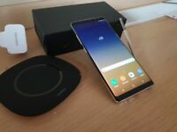 Payg Samsung Galaxy Note 8 Gold Unlocked With Wireless Charger
