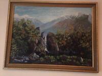Painting by Emmet Sweeney