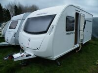 swift freestyle s4 fixed bed caravan 2012