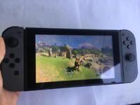 Nintendo Switch 32gb with Zelda BOTW