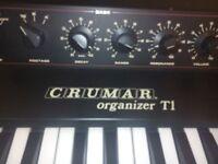 Crumar Organizer T1 - Vintage organ, hammond clone