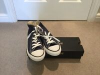 Childrens Navy Converse Boot Size 2