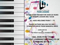 Piano Lessons from experienced teacher| Lessons only £9.00 per 30 minutes | Limited spaces available