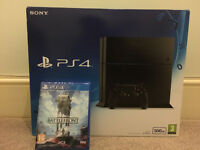 BRAND NEW SEALED PS4 500GB - SONY PLAYSTATION 4 with STAR WARS GAME