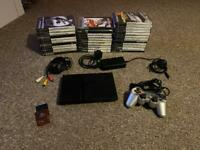 PlayStation 2 With Games and Extras
