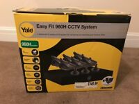 Yale Easy Fit CCTV Kit 6 Camera 1tb DVR Monitoring Recording Weatherproof 960h