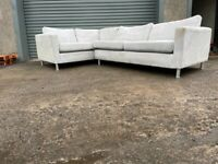 Grey corner sofa, couch, suite, furniture 🚚🚛(SOLD PENDING)