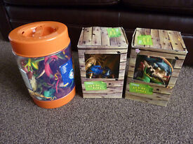 DINOSAURS, REPTILES AND INSECT SETS (3)