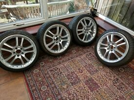 After market Alloys wheels for Sale with Tyres