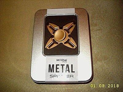 (XX Vibe COPPER Spinner Metal Fidget Toy Hand Spinner SEALED NEW)