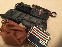 7 unused handbags