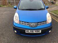 2006 Nissan Note 1.6 16v SVE 5dr Manual @07445775115
