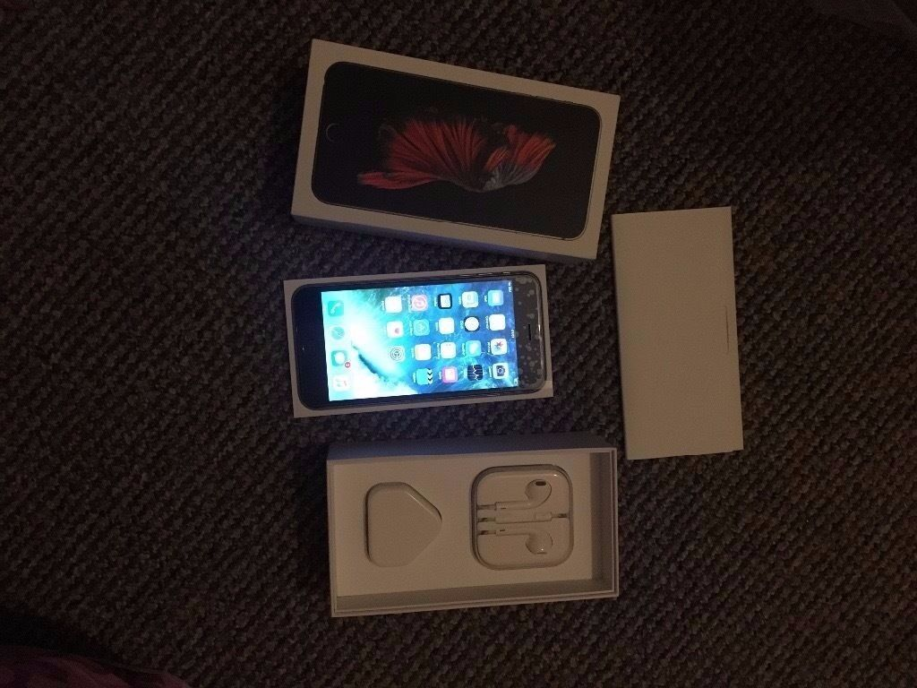 IPhone 6s Plus 128gb space gray unlocked great condition boxed with all accessories selling as upgrin Newham, LondonGumtree - IPhone 6s Plus 128gb space gray unlocked great condition boxed with all accessories selling as upgraded