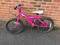 "Girls Bike (for 6 to 9yo) Apollo Star 18"" wheels"
