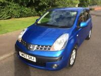 NISSAN NOTE SE 1.6 5DR , (07) 2007 , MOTD AUGUST 2018 , 1 PREVIOUS OWNER