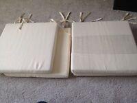 X4 seat pads