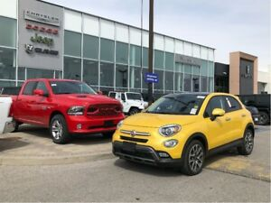 2017 Fiat 500X Trekking-LOW KM'S AND ACCIDENT FREE!!!